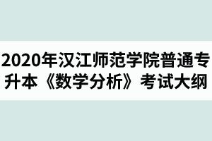 2020年汉江师范学院普通专升本数学与应用数学专业《数学分析》考试大纲