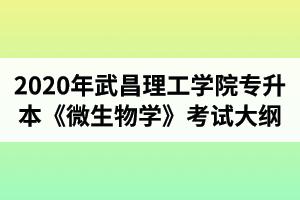 2020年武昌理工学院专升本《微生物学》考试大纲  