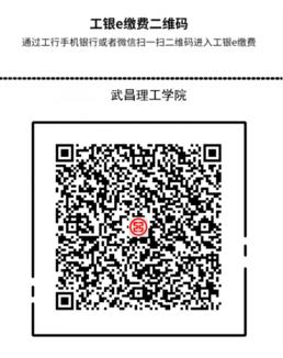 2020年武昌理工学院普通专升本新生入学缴费扫码