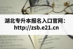 湖北专升本报名入口官网:http://zsb.e21.cn