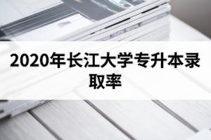 2020年长江大学专升本录取率