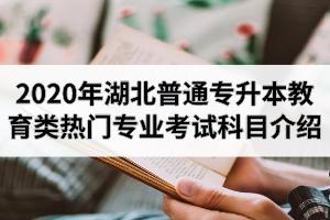2020年湖北普通专升本教育类热门专业招生院校及考试科目介绍