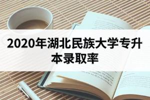 2020年湖北民族大学专升本录取率