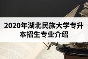 2020年湖北民族大学专升本招生专业介绍